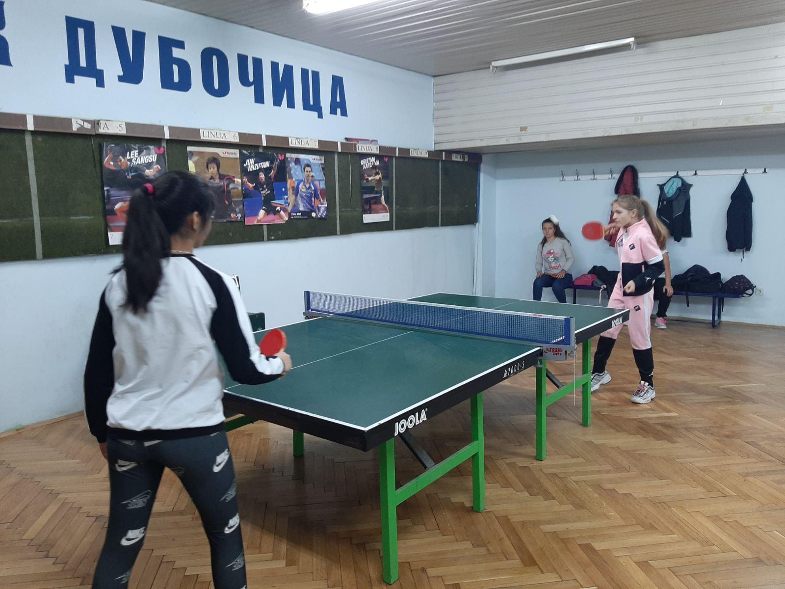 Општинско такмичење у стоном тенису